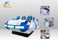 One Stop Customized 9D VR Virtual Reality Cinema 6 Seats For Game Center